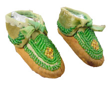 52 - Moccasins on white