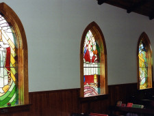 75 - stained glass window